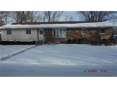 Huber Heights Single Family Home For Sale: 5523 Powell Road