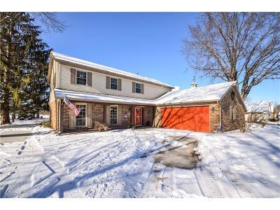 Enon Single Family Home For Sale: 1033 Cardinal Drive