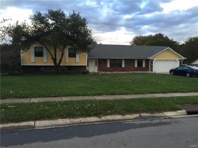 Dayton Single Family Home For Sale: 9056 Payne Farm Lane