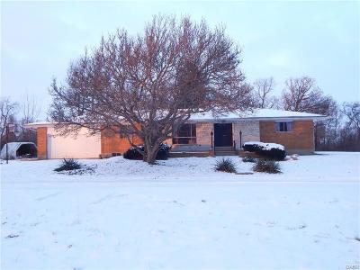 Fairborn Single Family Home For Sale: 8950 Haddix Road