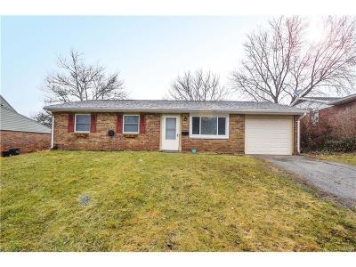 Troy Single Family Home For Sale: 1334 Skylark Drive
