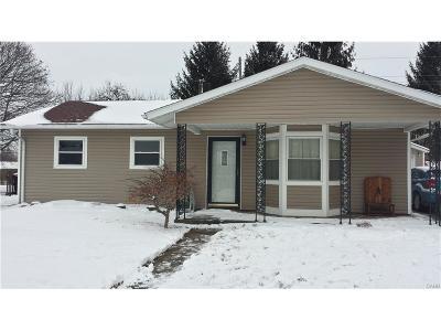 Xenia Single Family Home Active/Pending: 291 Franklin Avenue