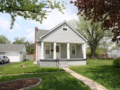 Dayton OH Single Family Home For Sale: $62,900