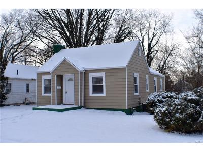 Dayton OH Single Family Home For Sale: $49,500