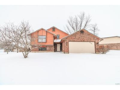 Dayton OH Single Family Home For Sale: $134,900