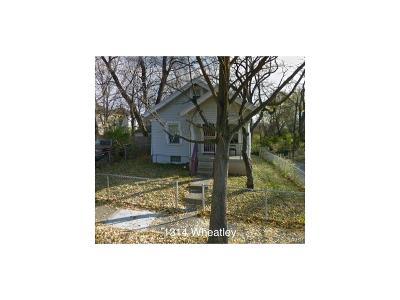 Dayton Single Family Home For Sale: 1314 Wheatley Avenue