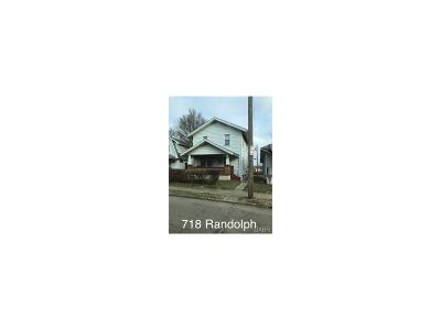 Dayton Single Family Home For Sale: 718 Randolph Street
