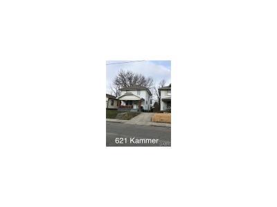 Dayton Single Family Home For Sale: 621 Kammer Avenue