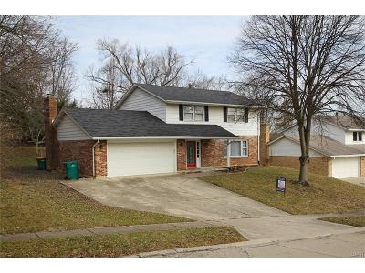 Fairborn Single Family Home Active/Pending: 341 Cherrywood Drive