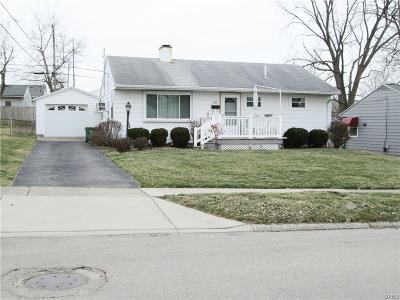Kettering Single Family Home Active/Pending: 2827 Acosta Street