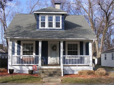 Tipp City Single Family Home Active/Pending: 419 Walnut Street
