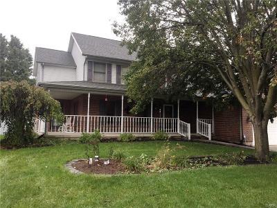 Tipp City Single Family Home For Sale: 740 Pinehurst Drive