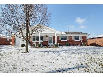Fairborn Single Family Home Active/Pending: 2053 Rockdell Drive