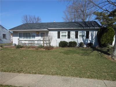 Kettering Single Family Home For Sale: 2649 Bingham Avenue