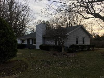 Brookville Single Family Home Active/Pending: 7575 Wellbaum Road
