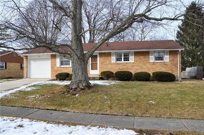 Tipp City Single Family Home Active/Pending: 589 Douglas Way