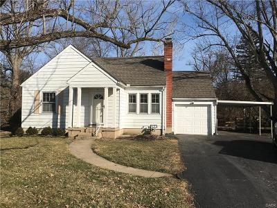 Beavercreek OH Single Family Home For Sale: $99,900