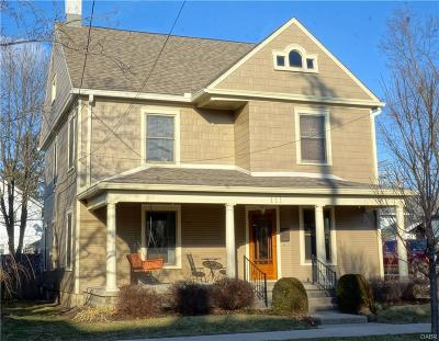 Troy Single Family Home For Sale: 111 Water Street