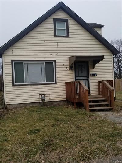 Dayton Single Family Home For Sale: 1124 Hunter Avenue