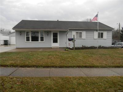 Dayton Single Family Home For Sale: 4853 Andes Drive