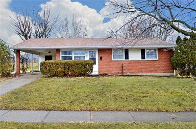 Dayton Single Family Home For Sale: 5175 Eastman Avenue