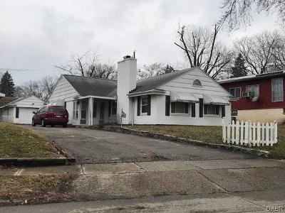 Dayton Single Family Home Active/Pending: 1715 Tennyson Avenue