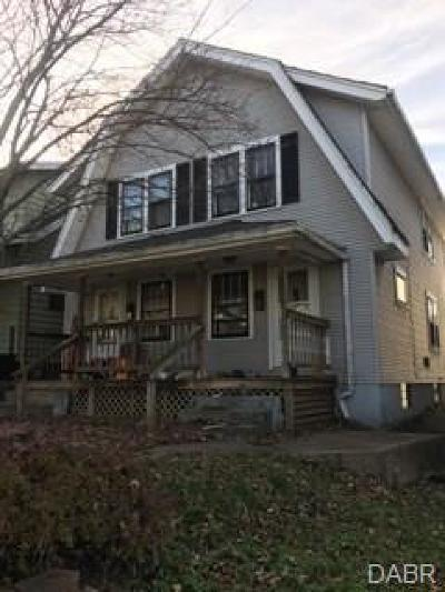 Dayton Multi Family Home For Sale: 825 Carlisle Avenue
