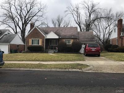 Dayton Single Family Home For Sale: 1669 Wesleyan Road