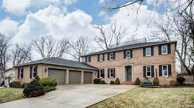 Kettering Single Family Home For Sale: 5057 James Hill Road