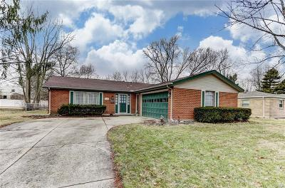 Kettering Single Family Home Active/Pending: 5185 Tahitian Place