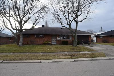 Dayton Single Family Home For Sale: 5733 Benedict Road