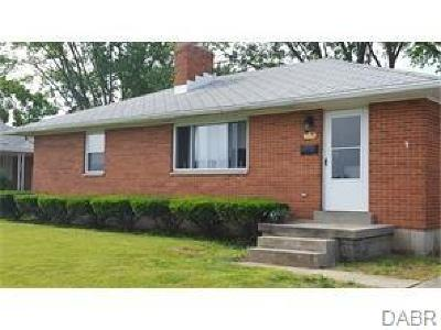 Dayton Single Family Home For Sale: 610 Alex Road