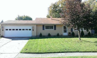 Dayton Single Family Home For Sale: 2516 Alvarado Drive