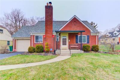 Kettering Single Family Home Active/Pending: 409 Storms Road