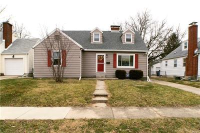 Dayton Single Family Home For Sale: 1115 Donald Avenue