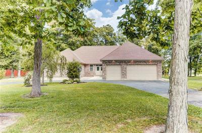 Brookville Single Family Home For Sale: 12747 Air Hill Road