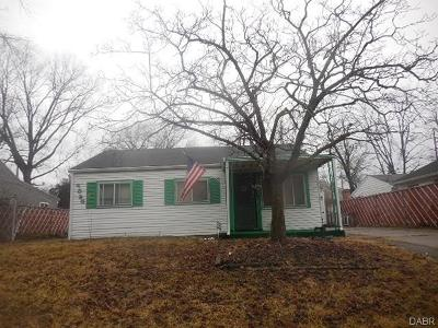 Dayton Single Family Home For Sale: 3626 Marlin Avenue