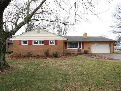 Xenia Single Family Home For Sale: 680 Monroe Drive