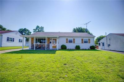 Kettering Single Family Home For Sale: 2540 Edenhill Avenue