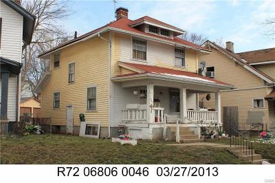 Dayton Single Family Home For Sale: 267 Delaware Avenue