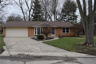 Bellbrook Single Family Home Active/Pending: 2239 Bradley Court