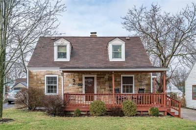 Kettering Single Family Home For Sale: 1963 Malcom Drive