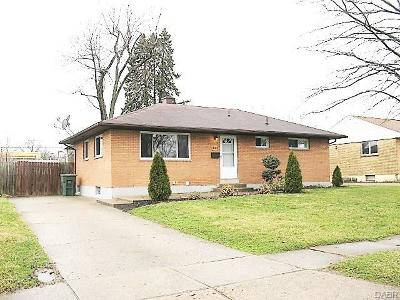 Dayton Single Family Home For Sale: 1647 Northdale Road