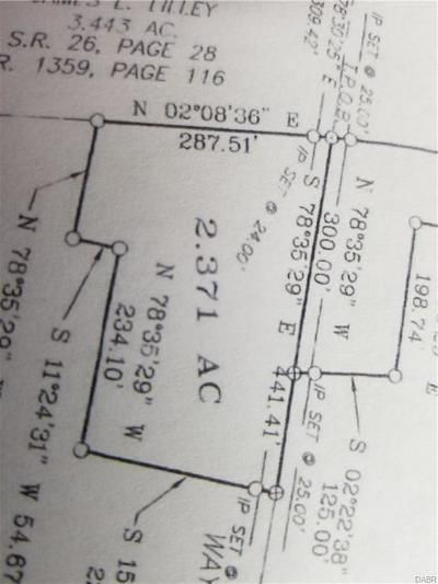 Jamestown Vlg OH Residential Lots & Land For Sale: $51,000