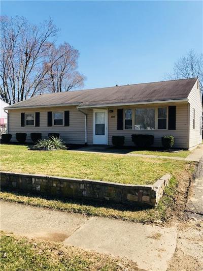 Dayton Single Family Home Active/Pending: 2366 Talisman Drive