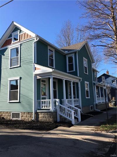 Dayton Single Family Home Active/Pending: 312 Adams Street