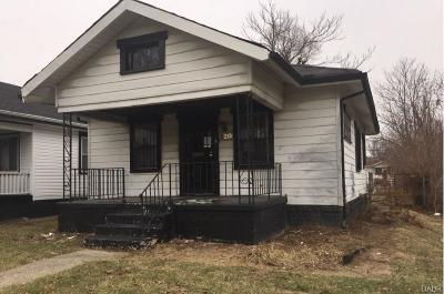 Dayton Single Family Home For Sale: 820 Westwood Avenue