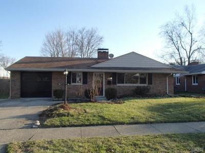 Dayton Single Family Home For Sale: 664 Wiltshire Boulevard