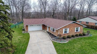 Dayton Single Family Home Active/Pending: 6226 Carnation Road