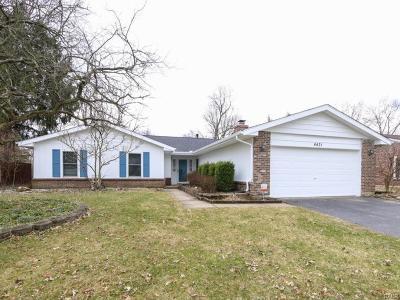 Dayton Single Family Home For Sale: 4431 Meadowsweet Drive